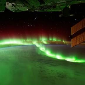 Timelaps zdjęć ziemi zrobionych przez załogę stacji kosmicznej