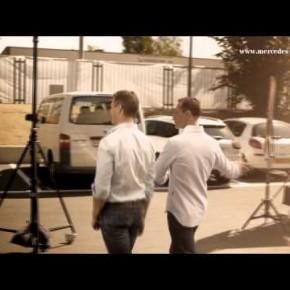 Kulisy sesji najnowszego Mercedesa SLS AMG