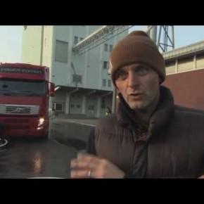 Ciężarówka Volvo i Tim Bjorn