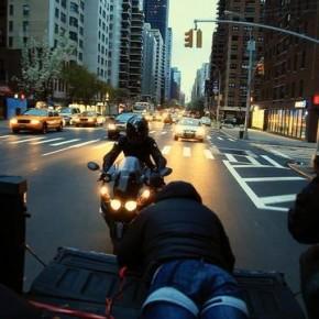Gregor Halenda dla marki Scorpion na ulicach NYC