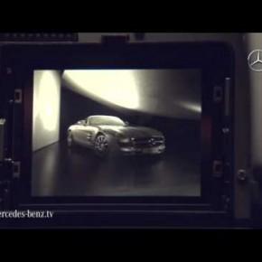 Making-of zdjęć do najnowszego kalendarza Mercedes Benz