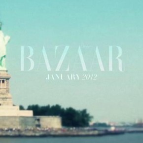 Sesja dla Harper`s Bazaar 01/12 z topmodelką Candice Swanepoel