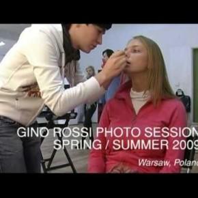 Dwie sesje zdjęciowe kolekcji Gino Rossi z udziałem Mateusza Stankiewicza