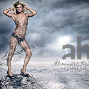 Jak stworzyć sukienkę z wody na modelce w photoshopie