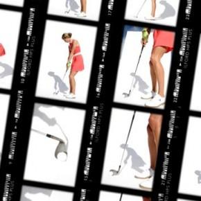 Anna Rawson i Kyle Stanley dla GolfDigest, fotografuje Walter Iooss