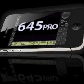 Zmień swojego iPhona w prawdziwy aparat za pomocą aplikacji 645 Pro