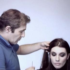 """Backstage sesji zdjęciowej kolekcji fryzur 2012 Stephane Amaru """"Simplexity"""""""
