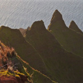 Niesamowity krajobraz Hawaii na zdjęciach Aarona Feinberga