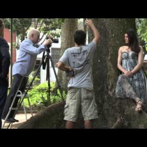 Making of nowego Kalendarza Pirelli 2013 w Rio, fotografuje Steve McCurry