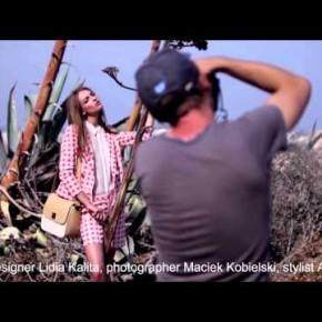 Kulisy sesji zdjęciowej Simple CP - wiosna-lato 2013, fotografuje Maciek Kobielski