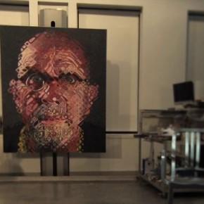 Abstrakcyjne portrety gwiazd wykonane Polaroidem