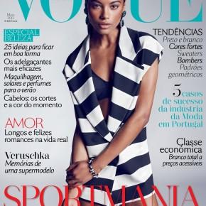Nowa okładka Vogue Portugal, fotografuje Marcin Tyszka